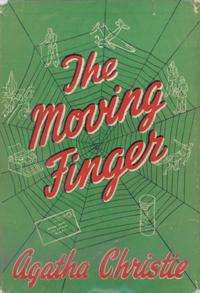 Image result for the moving finger first edition