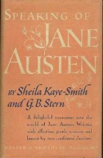 Speaking of Jane Austen