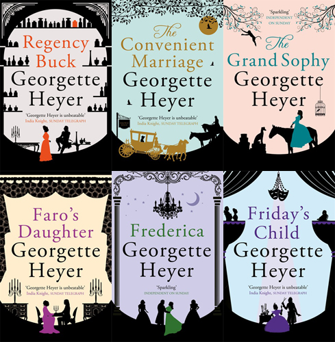 New Georgette Heyer Covers