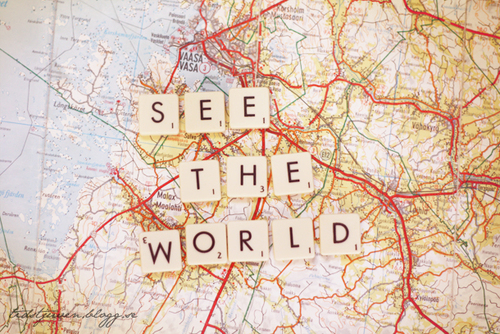 Off To See The World | The Captive Reader