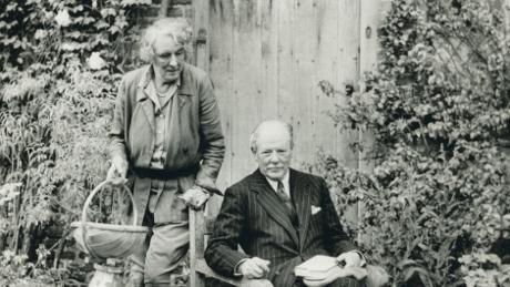 Vita Sackville-West and Harold Nicolson, credit: National Trust