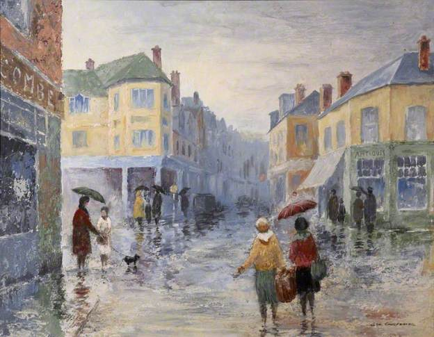 Rainy Day by George Ellis Carpenter