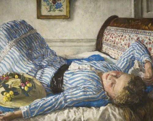 After a Game of Tennis by Fairlie Harmar