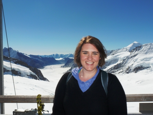 At the Jungfraujoch