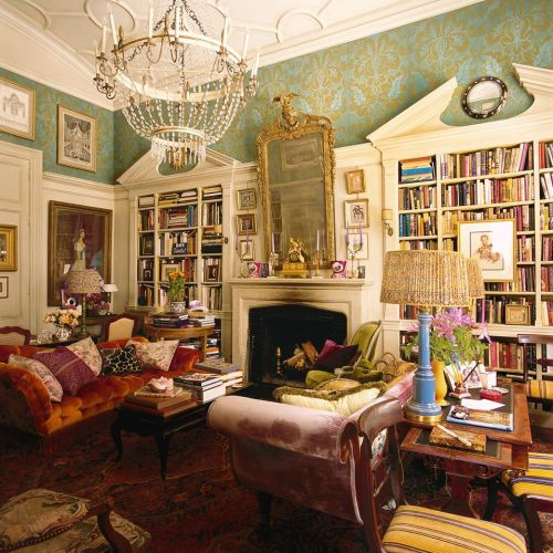 Hamish Bowles' New York home (credit: World of Interiors, November 2014)