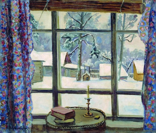 The Window of the Poet by Pyotr Konchalovsky