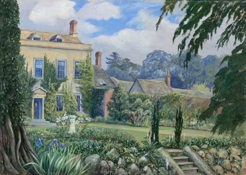 Mount House and Garden, Alderley, Gloucestershire, England - Marianne North